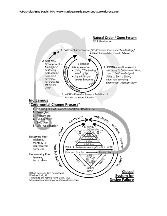Patricia's Graphic for the Ceremonial Change Process