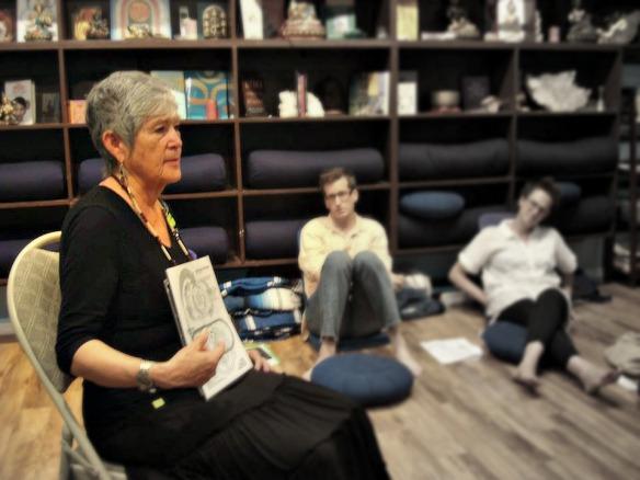 Patricia Anne Davis teaching in NYC
